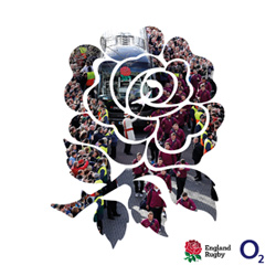 O2 & ENGLAND RUGBY SPORTS FAN BOOK