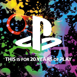 SONY PLAYSTATION 20TH ANNIVERSARY