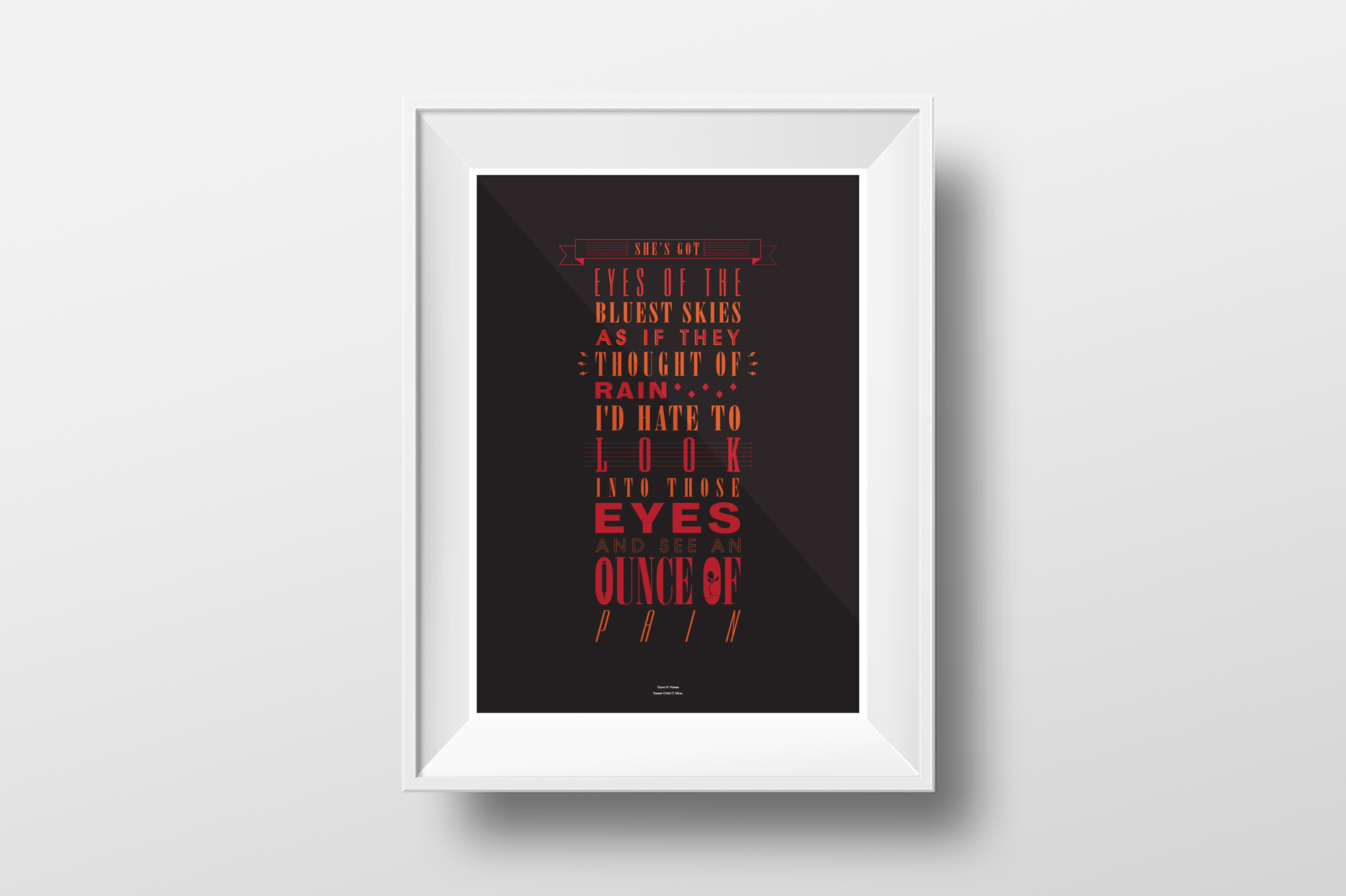 GPJ-typo-posters-Guns-n-Roses-Sweet-Child-O-Mine