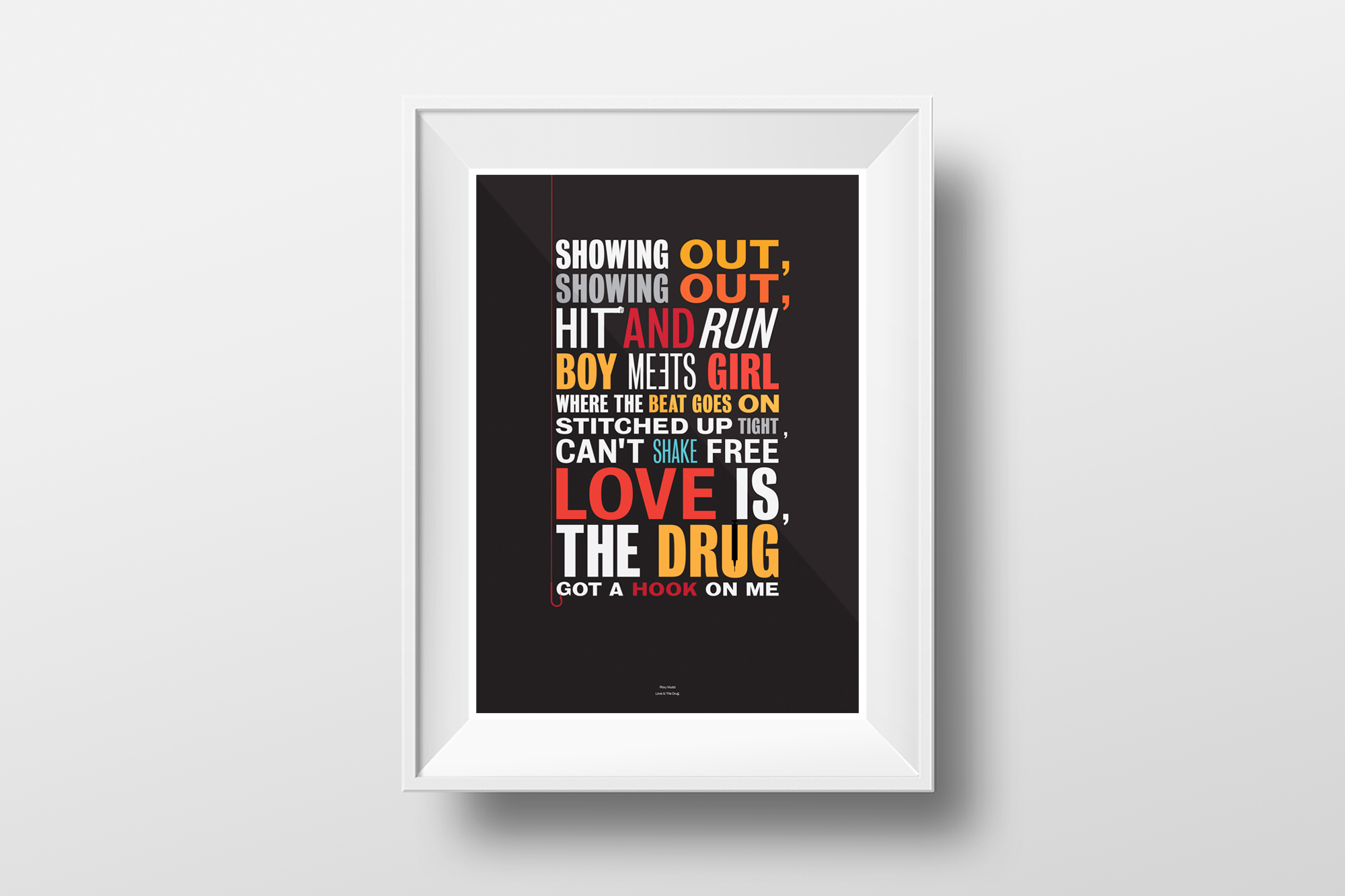 GPJ-typo-posters-Roxy-Music-Love-is-the-Drug